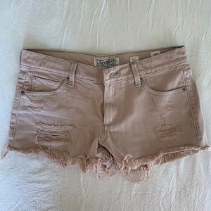 "Lucky Brand ""the cut off"" denim shorts"